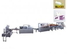 纸巾全自动装盒机生产线